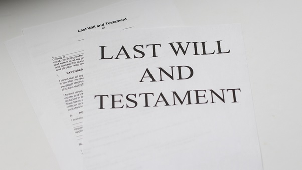Last Will & Testament Documentation
