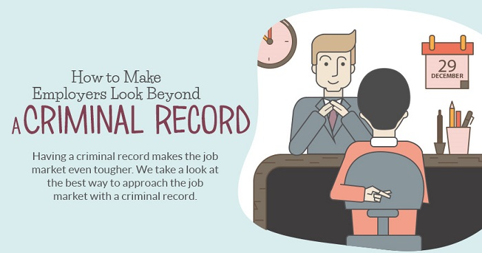 How To Get A Job With A Criminal Record Infographic Hansen Company